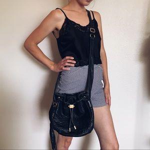 Badgley Mischka Bags - ❌SOLD❌Badgley Mischka leather bucket bag